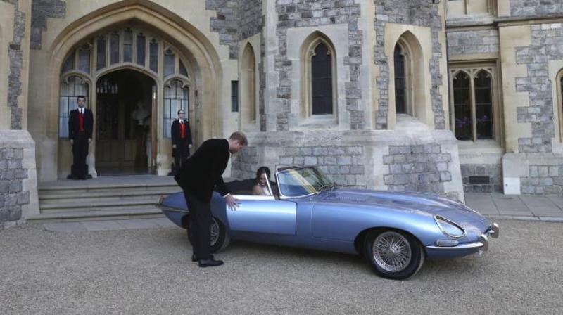 The electric version of the classic Jaguar E-Type especially modelled for Prince Harry to drive Meghan Markle to their wedding reception in May will go into production at the Tata Motor's Jaguar Land Rover factory in the UK, and will hit the roads by 2020, the company said.