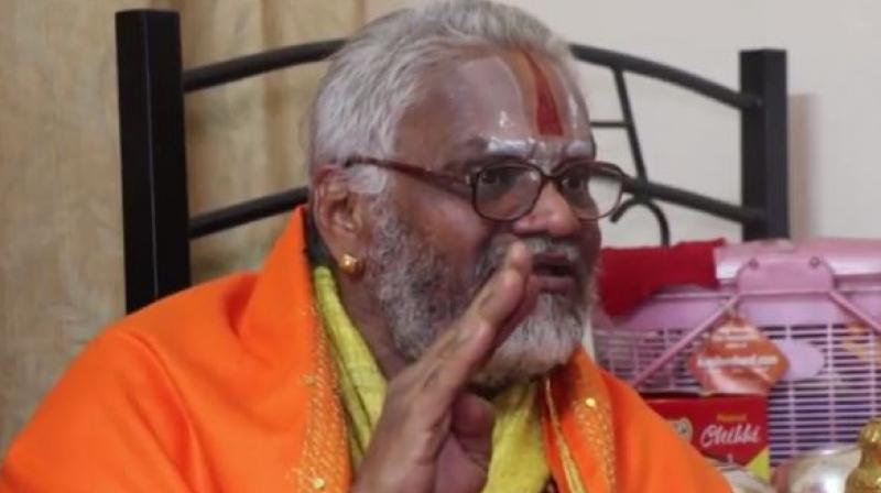 Baba Falahari was accused of raping a woman from Chhattisgarh. (Photo: YouTube | Screengrab)