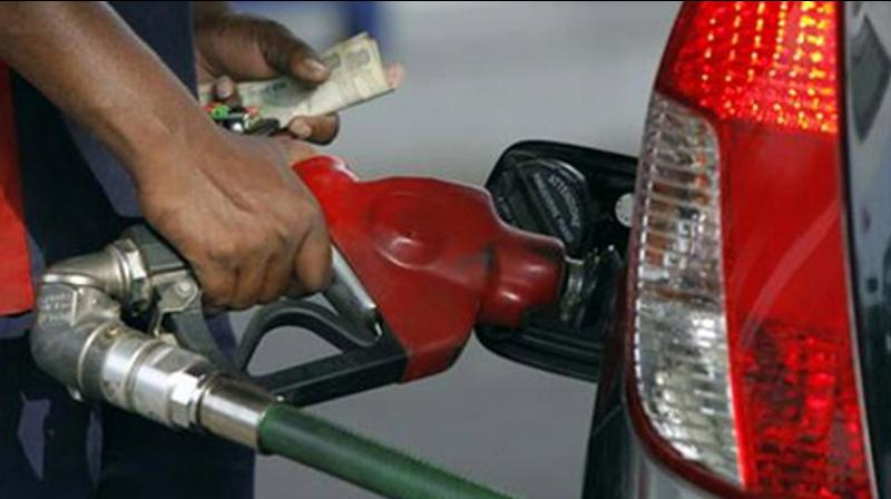 The increase took rates across the country to fresh highs with Tamil Nadu becoming the latest state to see petrol cross Rs 100-a-litre mark. (PTI Photo)