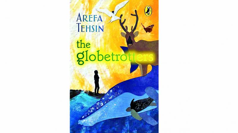 The Globetrotters Puffin Books, Penguin Random House, India pp.199, Rs 199