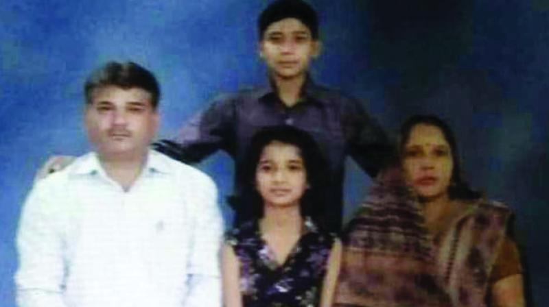 A file photograph of the Verma family.