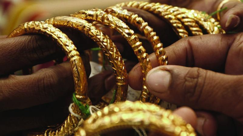 Domestic gold prices MAUc1 have risen more than a fifth this calendar year, hitting a record high of 38,666 rupees per 10 grams earlier this month amid a global rise.