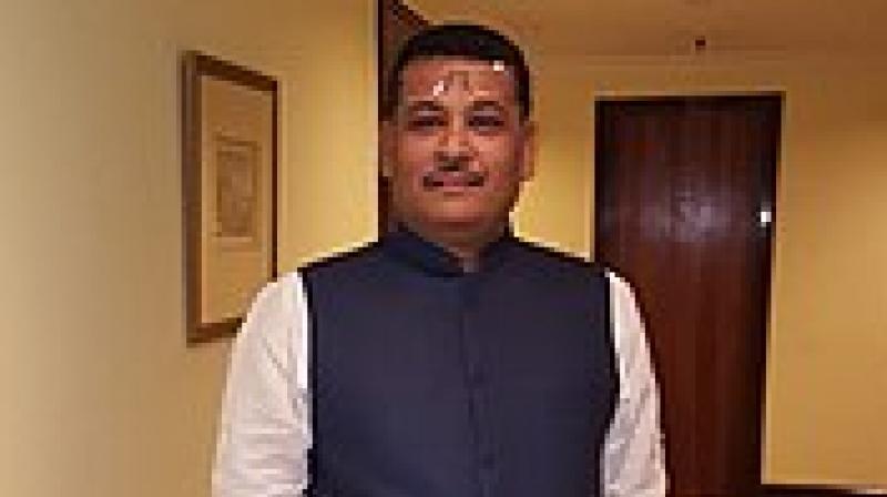 MLA of Noapara in North 24 Parganas Sunil Singh