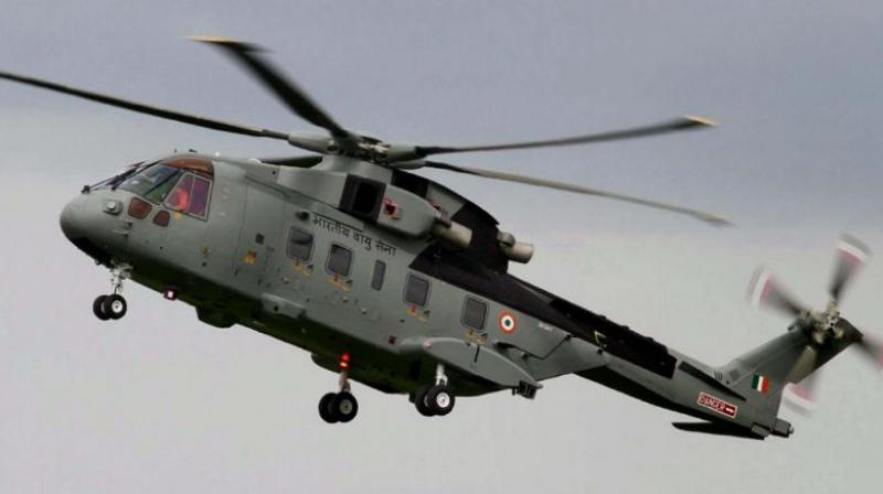 AgustaWestland had invoked the arbitration clause in the contract for supplying 12 VVIP choppers to the Indian Air Force after the deal was scrapped in 2014. (Photo: Representational Image/PTI)