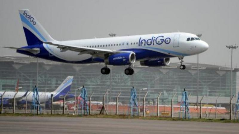 IndiGo in a statement attributed the incident to low visibility. (Photo: Representational Image)
