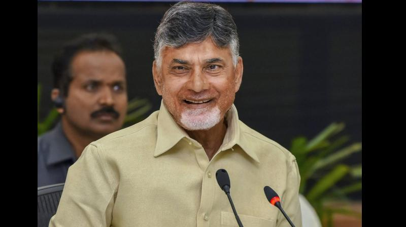 Andhra CM Chandrababu Naidu broke away from the NDA early 2018. He is now spearheading efforts to bring non-BJP parties together to form a third front ahead of the general elections. (Photo: PTI | File)