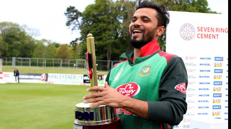 Bangladesh next takes on South Africa in their opening match of the World Cup on June 2. (Photo: AFP)