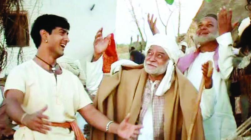 A screengrab of Lagaan: Once Upon a Time in India