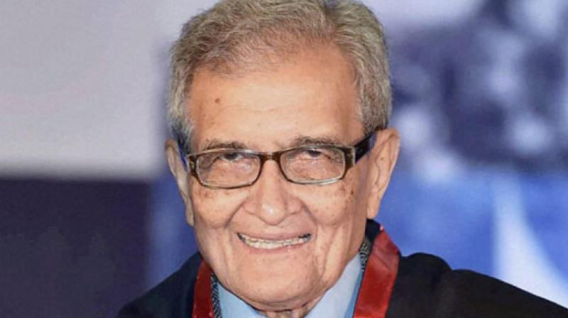 Amartya Sen won the Nobel Memorial Prize in Economic Sciences in 1998.