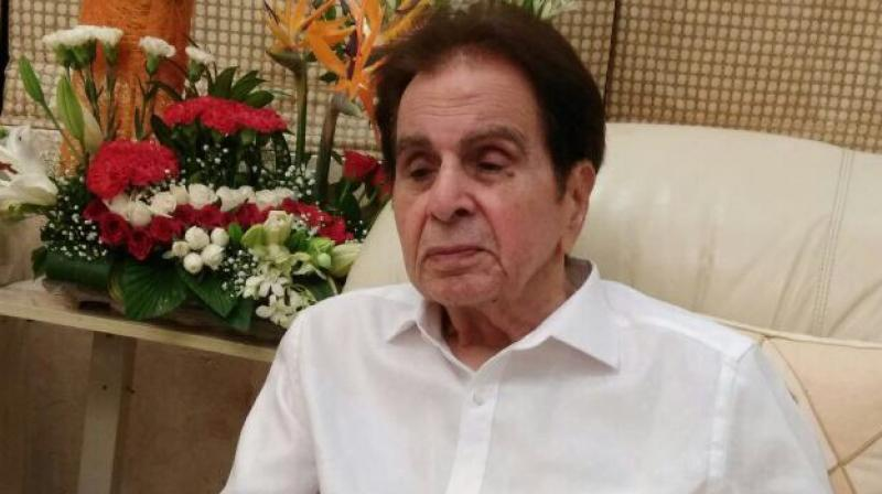 A file photo of Dilip Kumar shared by him on Twitter.