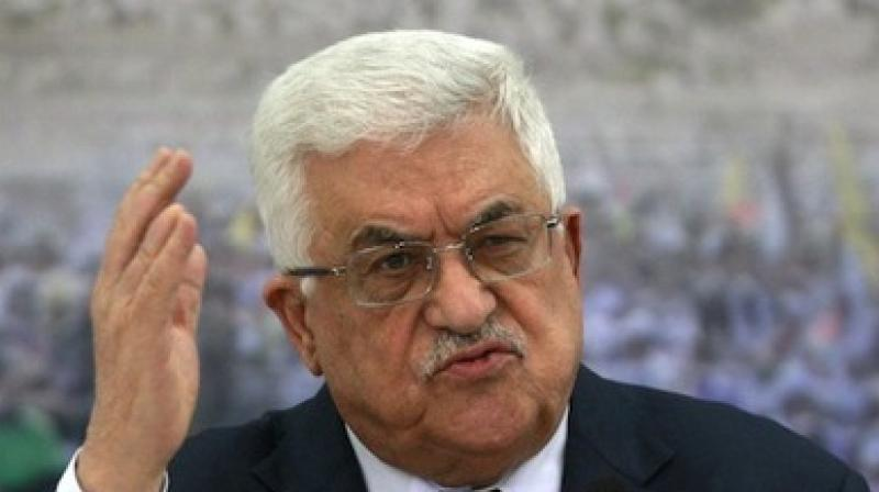 'The US ambassador in Tel Aviv is a settler and a son of a dog,' Abbas said in comments to Palestinian leaders in Ramallah. (Photo: AP)