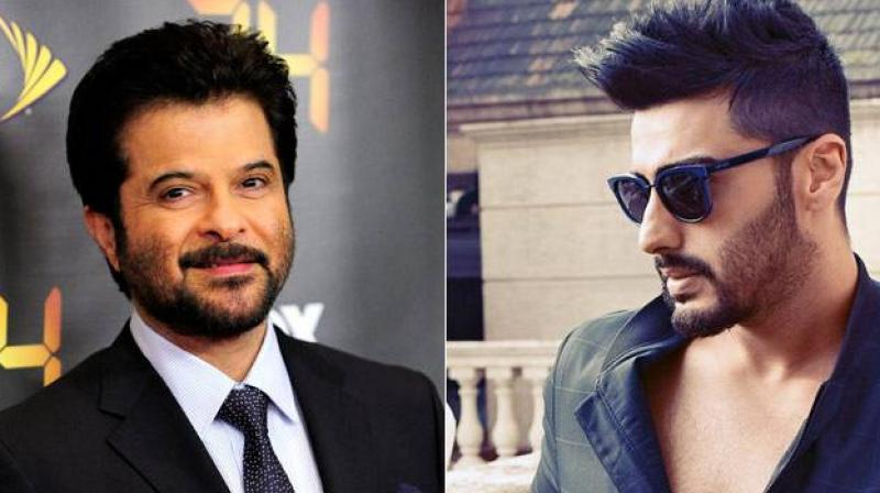 Anil Kapoor and Arjun Kapoor are working with each other for the first time in 'Mubarakan.'