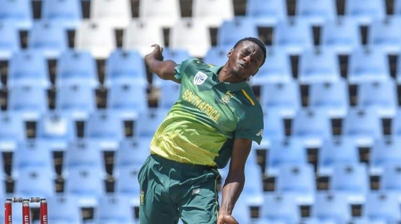 South Africa's pace spearhead Kagiso Rabada feels the upcoming T20 and Test series against India is a chance for his embattled team to figure where it stands against the world's best in a tough transition journey. (Photo:AFP)