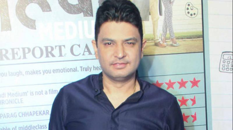 Bhushan Kumar's T-Series has multiple films on floors, including Salman Khan's 'Bharat.'