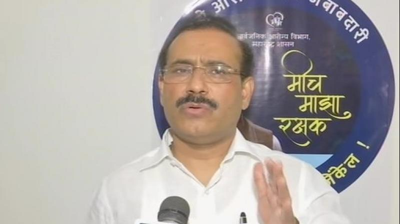 Maharashtra Health Minister Rajesh Tope. (ANI)