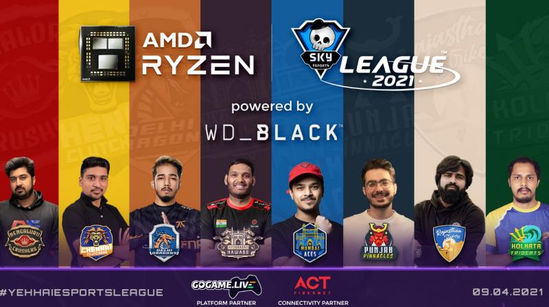 The Skyesports League 2021 continues to have teams from eight prominent cities, namely Mumbai, Chennai, Kolkata, Bengaluru, Delhi, Punjab, Rajasthan, and defending champions Hyderabad.