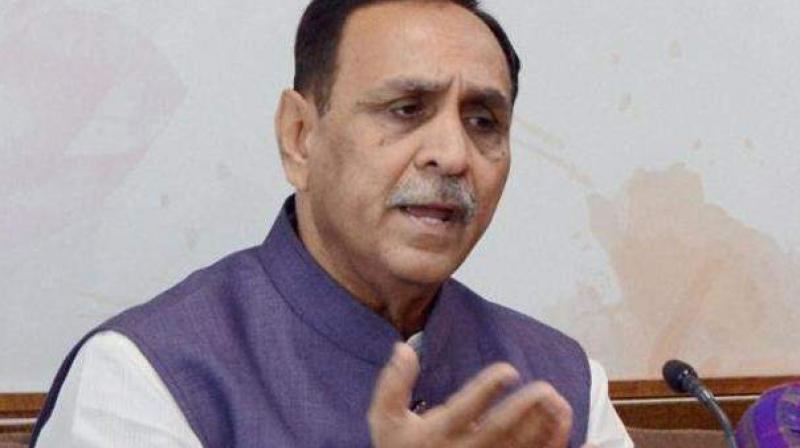 Gujarat Chief Minister Vijay Rupani. (Photo: PTI/File)