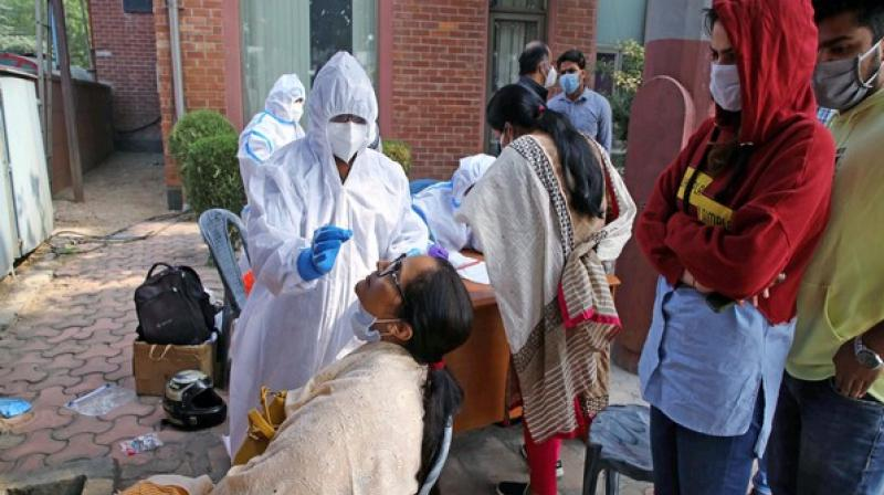 According to the health ministry, as many as 3,28,48,273 people have recovered from the disease so far. (ANI Photo)
