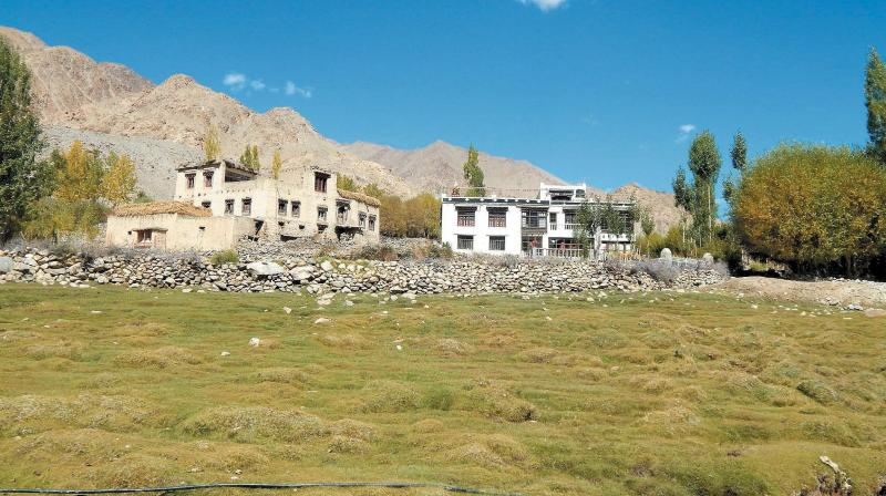 A file photo of Phyang village, Ladakh.