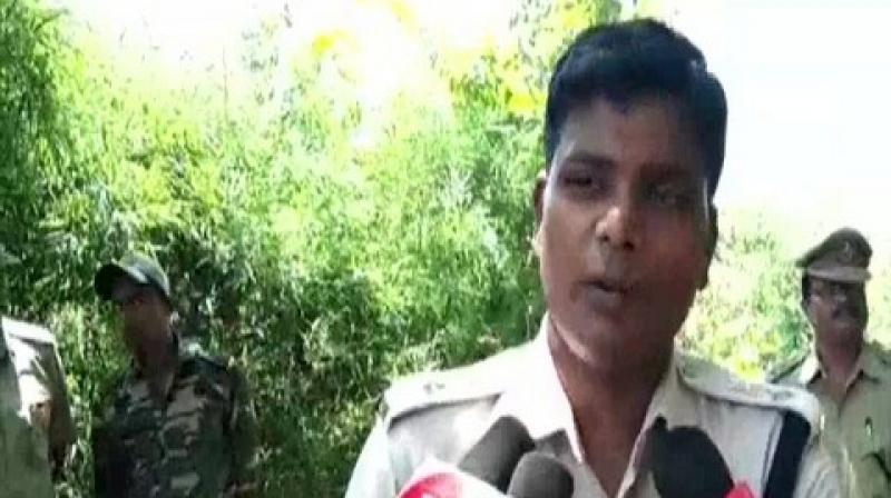 'The victim in her complaint said that she was raped by 5-6 men,' said B Gangadhar, Superintendent of Police (SP).