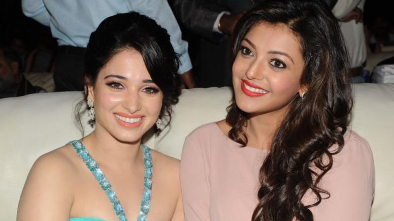 Not just South films, Kajal Aggarwal and Tamannaah Bhatia have also acted in Bollywood.