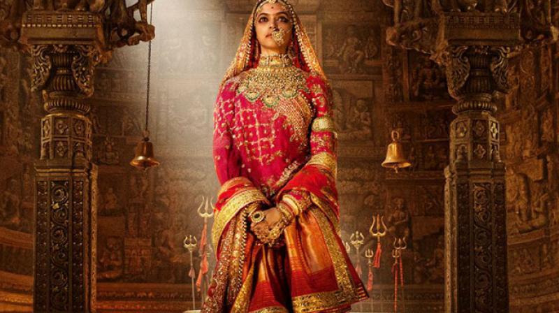 Deepika Padukone plays the titular character in 'Padmavati.'