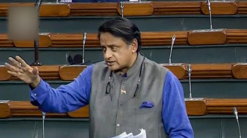 Shashi Tharoor (Cong) opposed The Anti-Maritime Piracy Bill at the introduction stage saying, the provision of automatic death penalty was against the law. (Photo: PTI)