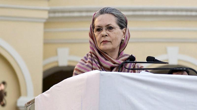 Congress President Sonia Gandhi. (Photo: File)