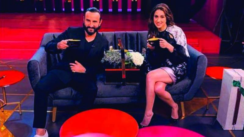 Saif Ali Khan has said he is proud of the choices his daughter Sara has made.