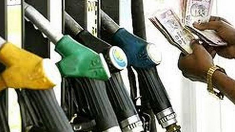 Petrol in Maharahstra will cost Rs 77.45 from Saturday.