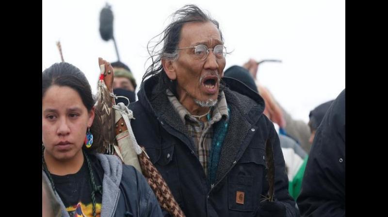 Native American veteran, Nathan Phillips (Phoito: ANI)