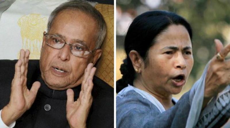 Mukherjee said in his new book 'The Coalition Years' that Mamata had built her career fearlessly and aggressively and was the 'outcome of her own struggle'. (Photo: PTI/File)