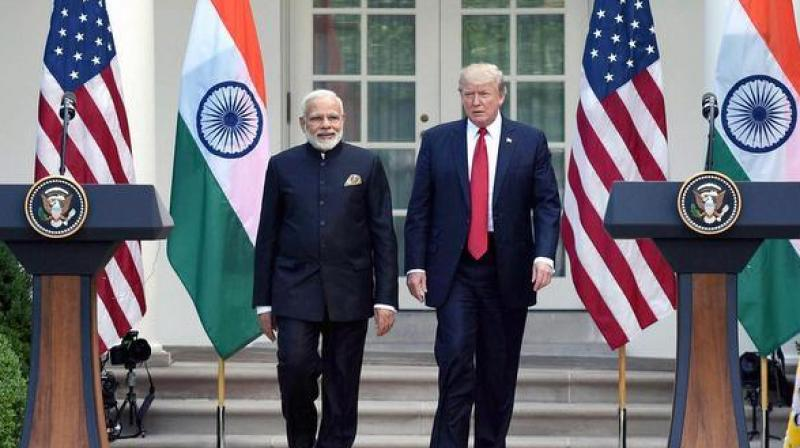 It will be the first meeting between the two leaders following a proposal to have a quadrilateral alliance among India, the US, Japan, and Australia. (Photo: PTI/File)