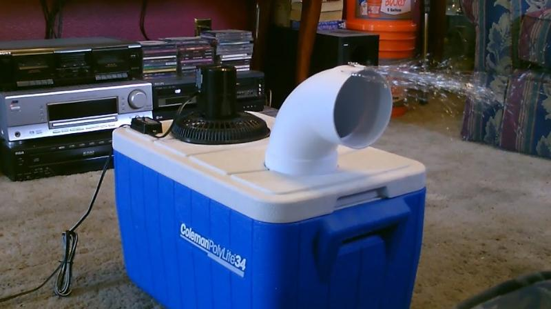 Can't afford an air conditioner? Not even an air cooler? No fret — here are a few ways to make your own cooler at home.