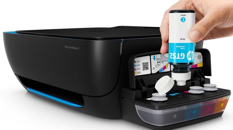The HP Ink Tank Wireless 419 is a compact all-in-one printer that demands a low space and can be easily kept in any corner of the room — thanks to the wireless connectivity.