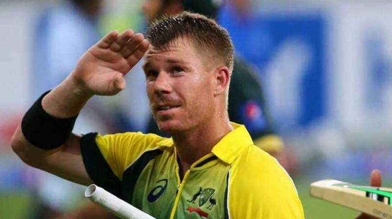 David Warner is now 19 points ahead of second-placed de Villiers in the ODI rankings list with a tally of 880 points. (Photo: AFP)
