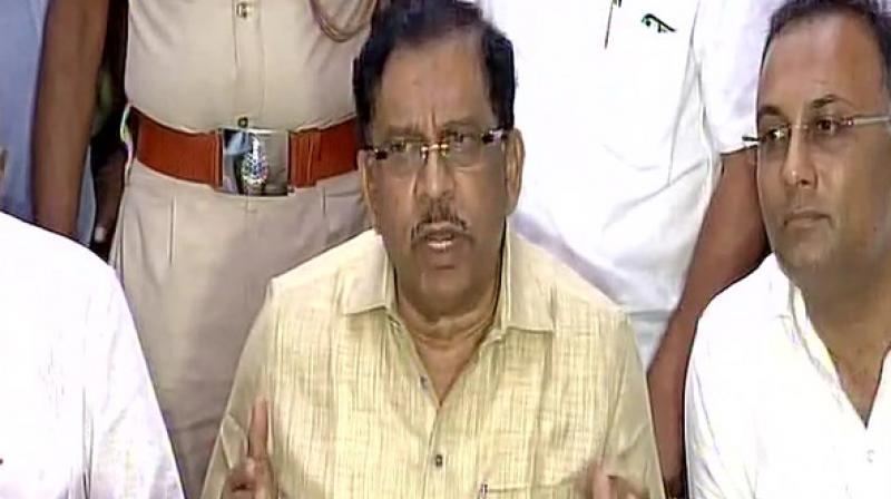 G Parameshwara's charge comes amid reports that disgruntled Congress MLA Ramesh Jarkiholi who was dropped from the ministry in the recent reshuffle, has been camping in Delhi. (Photo: File | PTI)
