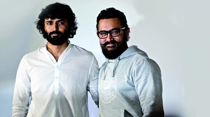 Advait Chandan and Aamir Khan