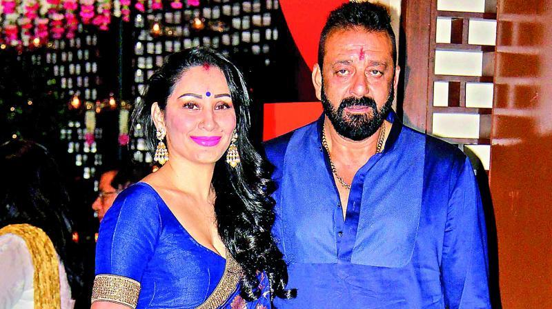 Manyata and Sanjay Dutt