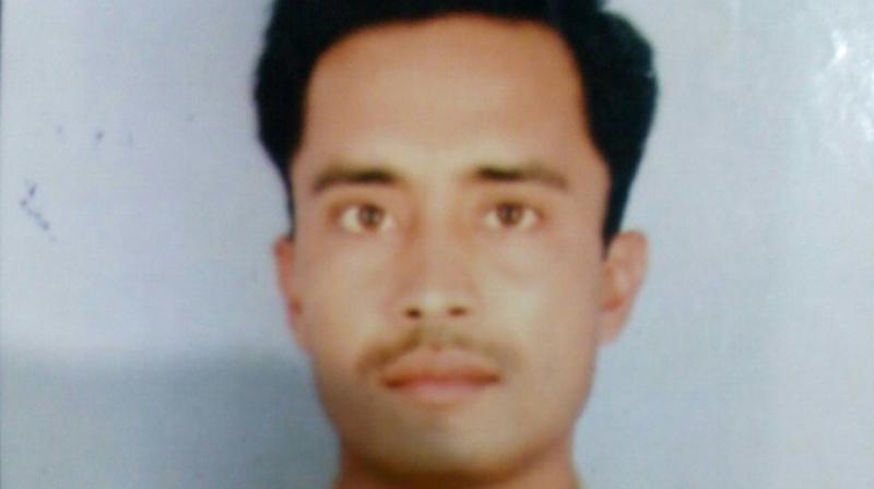 The jawan has been identified as Captain Brijendra Bahadur Singh. (Photo: Twitter | ANI)