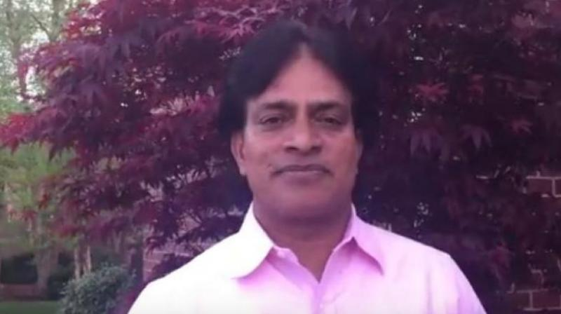 Dr Achutha Reddy, a psychiatrist, was found with multiple injuries in an alley behind his clinic in Kansas City in US. (Photo: YouTube Screengrab)