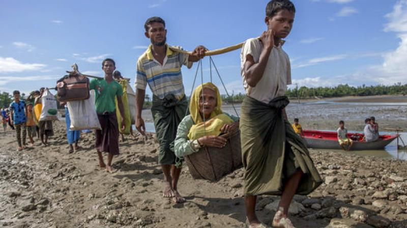 The Centre on Wednesday, while granting Indian citizenship to Chakma and Hajong refugees, maintained its stand saying that Rohingyas are illegal. (Photo: AP)