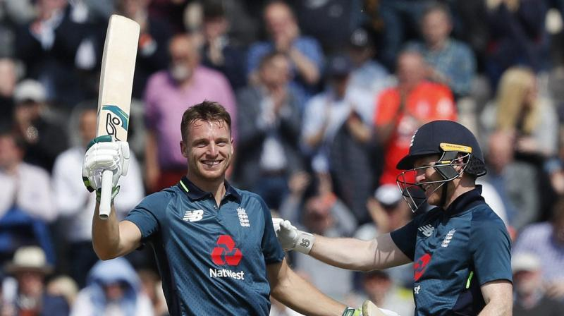 Buttler made 110 not out at two-runs-a-ball rate and England will expect their middle order lynchpin to keep firing as they chase their maiden 50-overs World Cup title. (Photo: AP/PTI)
