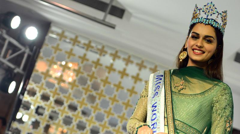 Miss World 2017 Manushi Chhillar (Photo: Rajesh Jadhav)