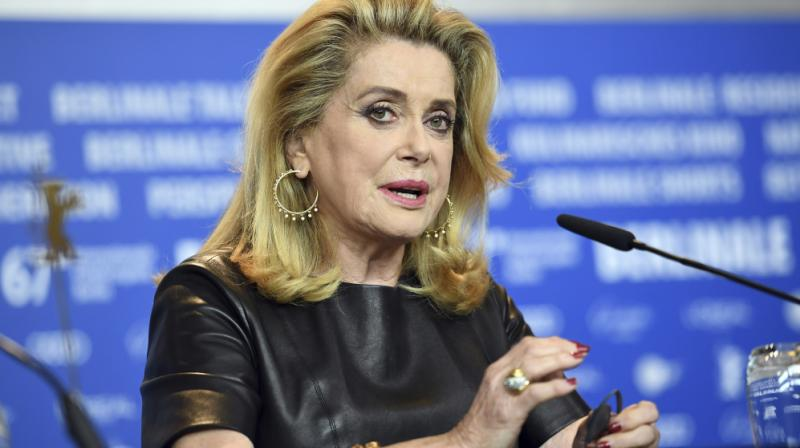 Deneuve denounced the #MeToo movement and its French equivalent, #Balancetonporc (Call out your pig), in a letter. (Photo: AP)