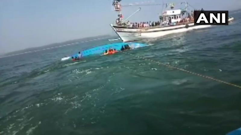 A Dornier aircraft has been launched from Goa for search and rescue, the Navy said. (Photo: ANI)