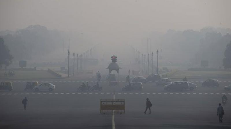 The present levels of particulate matter in the atmosphere are sufficient to contribute towards depleting health standards and high level of toxicity in the air with dangerous gasses. (Representational image | PTI)