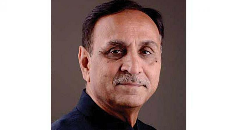 Gujarat Chief Minister Vijay Rupani. (Photo: File)