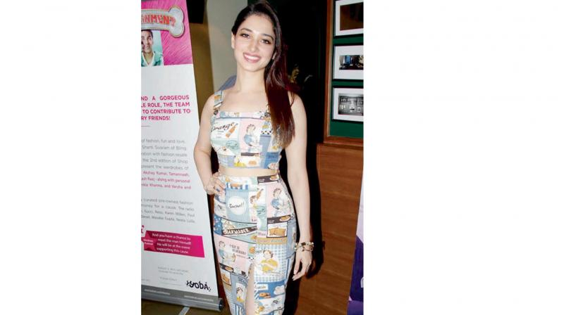 Actress Tamannaah knows how to slay in separates!