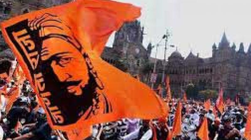 The Maratha farmers' rally at Azad Maidan.